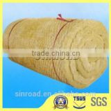 Building Material Heat Insulation Mineral Best Price-Rock Wool Blanket / Roll / Felt / Tape Insulation