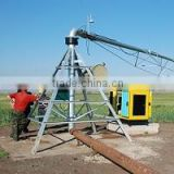 hot-dip galvanized treatment steel material, locally field-tested and customized center pivot irrigation machinery