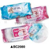 baby diaper and baby wet wipe