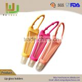 Eco-Friendly good quality lip gloss tube with applicator with silicone holder