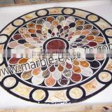 Italian Inlay marble Table Top, modern dining tables, European style Marble dining table