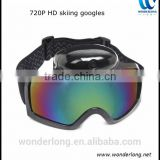 2016 Outdoor 1280*720p Snow Skiing Goggle Camera Sports Snowboard Protective Glasses DVR Camcorder