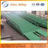 12ton china supplier CE mobile yard ramp/forklift steel mobile loading dock ramp/container ramp for forklift