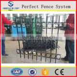 china supplier the ornamental decorative balcony fence grill design / balcony railing designs/european