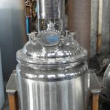 100L jacketed agitated mixer reactor