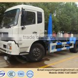 China high quality 12 ton movable trash container garbage truck for sale