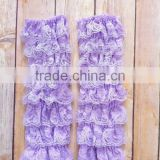 Wholesale Baby Girl Leg Warmers Thin Summer Chiffon Ruffle Legging Sock