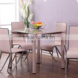 modern design glass extendable dining table