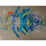 2014 new fashional bikini set embroidary swimsuit