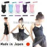 "Japan High quality and Durable ballet dance leotard ""Ribbon Passe"" for kids and adults Wholesale"