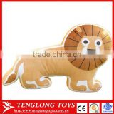 creative animal pillow shape cute cushion stuffed toy birthday gift throw pillows plush toys lion