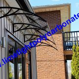 Polycarbonate awning, polycarbonate canopy, DIY awning, DIY canopy, door awning, door canopy, window awning, Rain Canopy