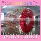 2014 Top quality inflatable water rolling cylinder
