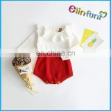 Hot Sale Knitting Wool Cotton Infants Baby Romper Infant Climb Rompers