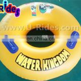 Yellow PVC Water Tube For Water Park