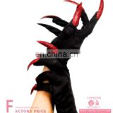 Black red Fishnet Long Gloves Fashion Women Fancy Dress Party Gloves