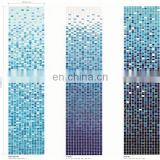 Miraculous crystal glass mosaic tile