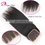 7a virgin brazilian hair top closure cheap lace front closure