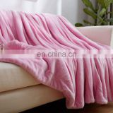 Warm super soft ceramic fiber arab cold electric heating double bed emergency nepal blanket fabric