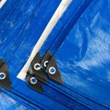 PE tarpaulin Standard tarpaulin water-proof covers coated fabrics blue/white tarpaulin any sizes