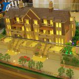 Beautiful design building house villa models for sale , house model