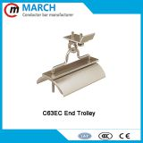 End trolley middle trolley trowing trolley cable slide trolleys