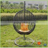 Used Rattan Wicker Hanging Swing Chair Egg Hammocks