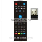 High Quality universal Air/fly Mouse Remote control for LED/LCD TV,Set Top Box andplayer etc