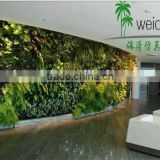 fake artificial wall plants artificial vertical grass/artificial wall hanging plant