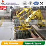 Labor saving!! Automatic stacking robot for brick pruduction line, clay brick making machine for sale