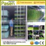automatic hydroponic fodder machine, sprout container with green trays                                                                         Quality Choice