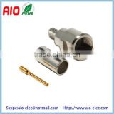 3 Piece 50 Ohm FME /SAP (for mobile equipment) Male Crimp type solder wire Connector for RG58
