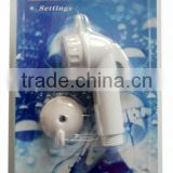 Bidet shower clean head with 1.2M PVC hose and bracket