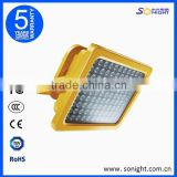 100w new explosion proof gas station led canopy lights/gas station led canopy lights fixture