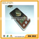 Sounon Hight Quality Pocket Weighing Scale, Digital Jewelry Pocket Scale from Factory, Pocket Mini Scale