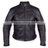 Men Motorbike racing Leather Jacket/Motorcycle Biker Jacket/western leather fringe jackets/WB-MBJ124