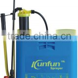 China factory supplier hand back/pump/spray machine sprayer high quality pressurized bottle sprayer