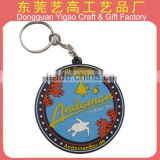 Supply custom rubber soft pvc key chain at factory price / Disney audited factory                                                                         Quality Choice