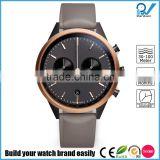 PVD black/rosegold case 316L stainless steel material scratch-resistant stainless steel luxury watch brands