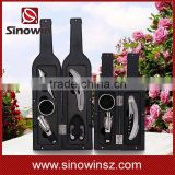 2016 Christmas Red Wine Bottle Box 5 Pieces Wine Opener Accessory Gift Sets