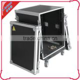 storage case road case with wheel/ butterfly latch/ recessed spring handle
