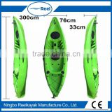 2016 hot sale sit On Top plastic fishing Boat speed angler
