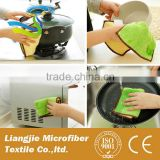 Kitchen Cleaning Auto Car Cleaning Microfiber Towel 25*25CM