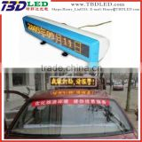 wireless taxi led top light display,led car movign message screen sign board,led taxi display sign for car rear window