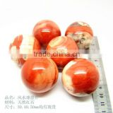 2inches Natural Red Jasper Sphere