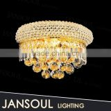 interior decoration wholesale china market of electronic gold chains crystal ball chandelier wall sconce