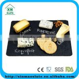 [factory direct] 40x30cm Natural Edge Rectangle Slate Plate Cheese board Item CP-4030RD2A