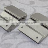 high class good quality stainless steel glass folding door hardware heavy duty glass door hinge