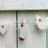 Custom design Plywood Hanging Christmas Decoration(wooden crafts/wood gift/wood art in laser-cutting & engraving)