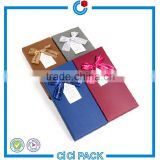 custom cardboard rigid paper boxes for wallets gift box with own logo                                                                                                         Supplier's Choice